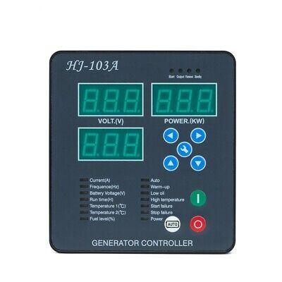 Maxgeek Hj-103a Generator Controller Panel Diesel Module Automaticmanual Start