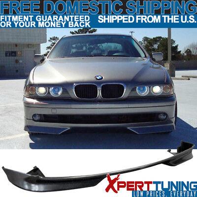 Fits 97-00 BMW E39 528 540 MTEC PU Front Bumper Lip Spoiler 528i 540i