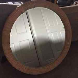 "42"" Round Wooden Frame Wall  Mirror London Ontario image 1"