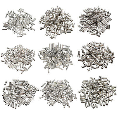 100pcs Cable Housing End Non-Insulated Wire Strip Copper Ferrules 0.5mm²-6mm²