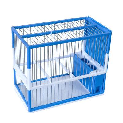 Jaula Para Pájaros Conjunto Silvestrismo C-2 Azul Jilgueros y Silvestres