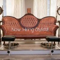 Stylist's needed rent/commission/hourly to be discussed!