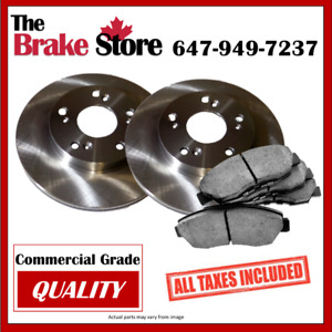 Tax in Nissan Sentra W/ Rear Disc 07–12 Rear Brakes and Rotors