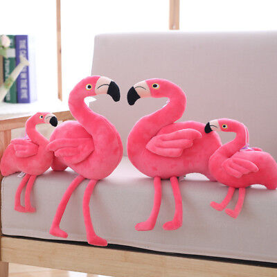 US Cute Flamingo Animal Stuffed Soft Plush Toy Doll Pillow Girls Birthday - Toy Flamingo