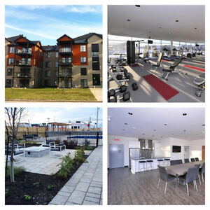 SPACIOUS 2 BED CONDO IN VAUDREUIL FOR RENT