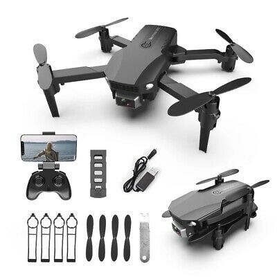 R16 Mini Drone With HD 4K Dual Cameras Wifi Foldable Drone RC Quadcopter