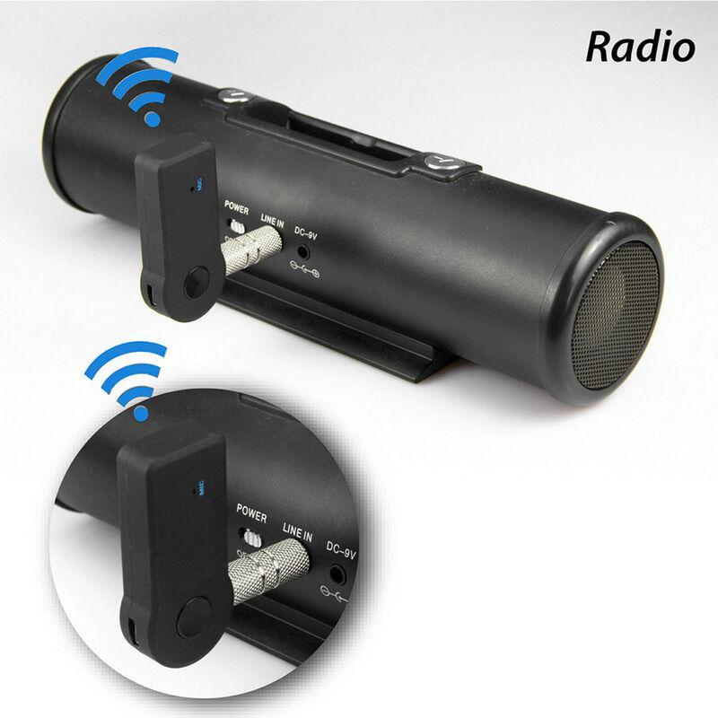 Premiertek Wireless Bluetooth 3.5mm AUX Audio Stereo Music Car Receiver Adapter