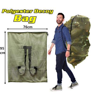 Hunting Mesh Decoy Backpack Mesh  Greenhead Turkey Goose Duck Decoy Bag Tool
