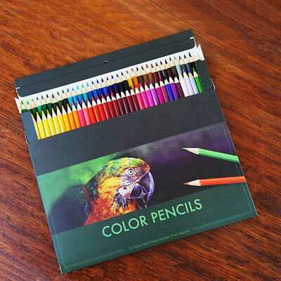 Premier Colored Pencils Bright Color Portrait Set Soft Core 72 Count