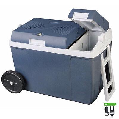 WAECO Mobicool W38 AC DC Thermoelektrische Kühlbox 12/230 Volt Box Trolley Räder