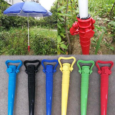 Strandständer Regenschutz Garten Sonnenschirm Anker Spike Regenschirm StreYG