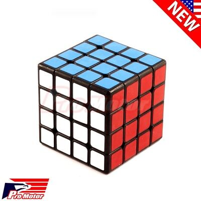 4x4x4 Professional Ultra-Smooth Fastest Speed Magic Cube Twist Puzzle Kids Gift