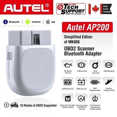 Autel AP200 OBD2 Bluetooth Car Scanner Diagnostic DIY Tool All Systems As MK808