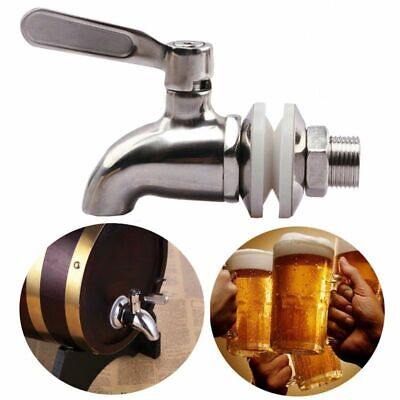 Stainless Steel Faucet Tap Draft Beer Faucet For Home Brew Fermenter Wine