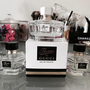 LOT of 3 GUCCI FLORA perfume bottles