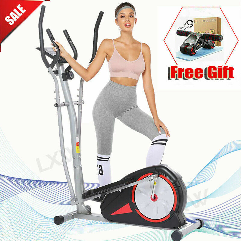 Newest Magnetic Elliptical Machine Mute Exercise Fitness Tra