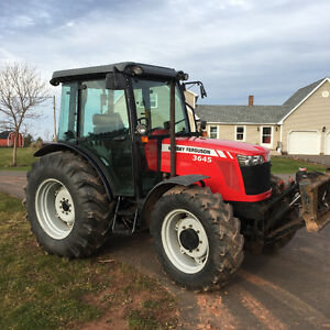 2008 Massey Ferguson 3645 4x4 with cab only 1900 hours