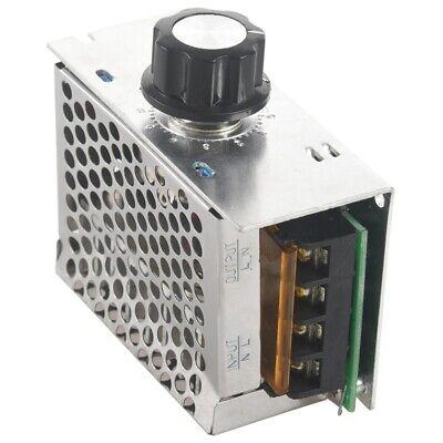 Regulador Controlador de Tension Voltaje Silicio Alta Potencia 4000W con Ca M9E1