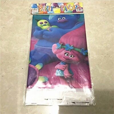 Trolls Tablecloth Plastic 108 x 180cm Party Birthday Kids party supplies