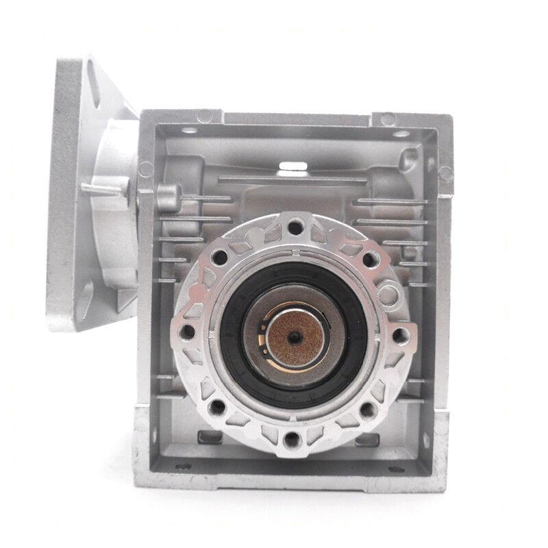 NMRV040 Worm Gear Reducer NEMA34 Input 14mm Ratio 10 20 25 50 80:1 Stepper Motor