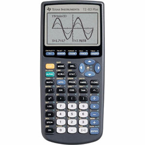 Texas Instruments T1-83 Plus Graphing Calculator and USB kit