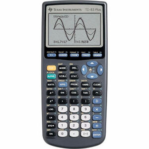 Texas Instruments T1-83 Plus Graphing Calculator
