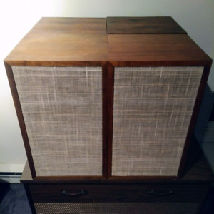 Dynaco A25 speakers.