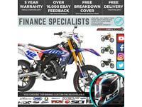 Rieju MRT Pro Replica 50 SM 50cc Supermoto 2 Stroke Motorbike Finance Delivery