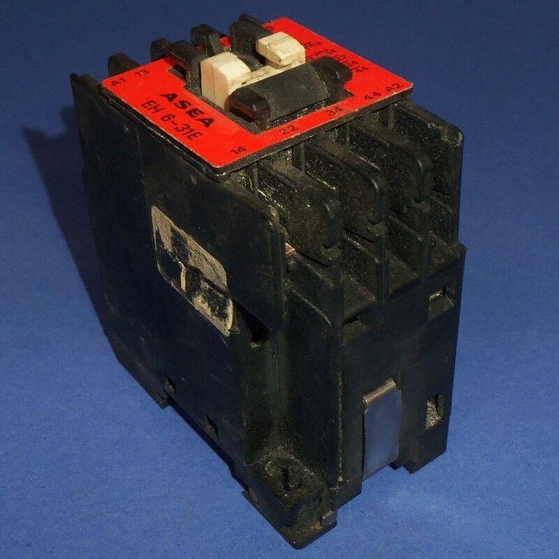 ASEA 220VAC COIL CONTACTOR EH 6-31E