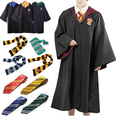 Harry Potter Kostüm Mantel Umhang Schal Krawatte Gryffindor Slytherin (Harry Potter Kostüm)