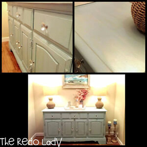 Custom solid wood buffet
