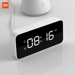 Xiaomi Smart Voice Broadcast Alarm Clock ABS Bluetooth Wifi Table Desktop Clocks