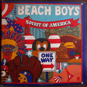 BEACH BOYS Vinyl LP - 2 Album Set - Spirit of America