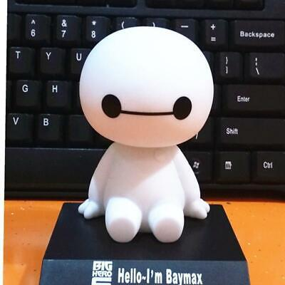 Nodding Nodder Moving Bobble Head White Doll Car Windshield Decoration Toy