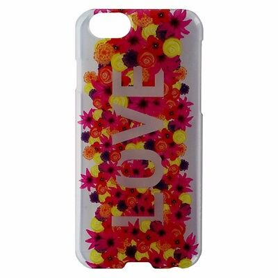 Agent 18 SlimShield Hardshell Case for iPhone 6 / 6s - Clear / Love / Flowers Agent 18 Clear Case