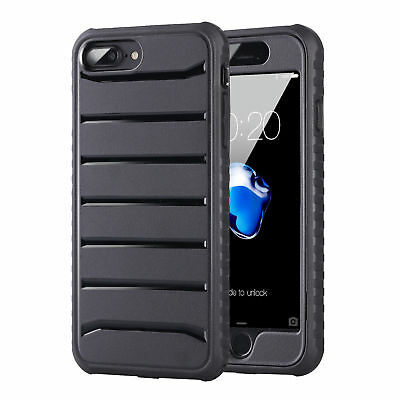 For iPhone 7 8 iPhone8 Plus Case Shockproof Protective Rugged Hybrid Hard Cover