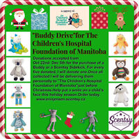 Scentsy Buddy drive for the Manitoba Children's Hospital