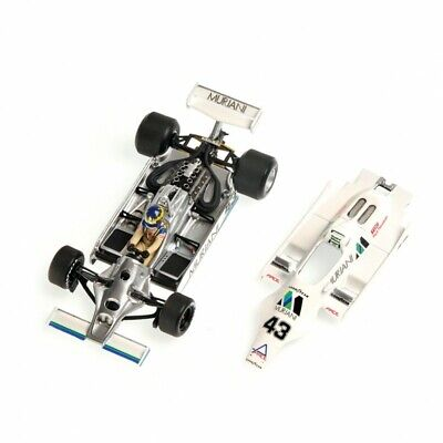 1:43 Williams Ford FW07 Wilson Brands Hatch 1980 1/43 • MINICHAMPS 400800043
