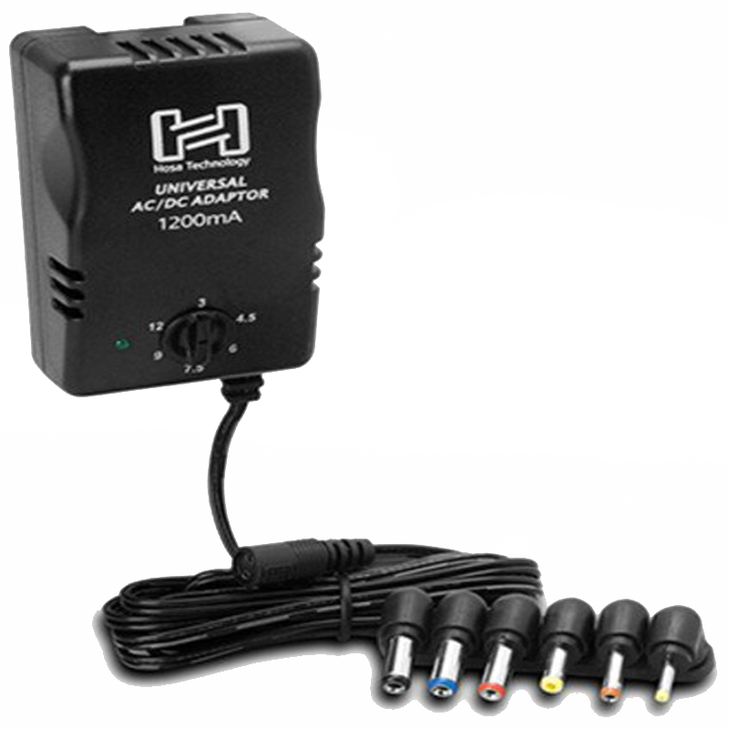 Hosa ACD-477 Universal Power Adaptor with DC Output up to 12