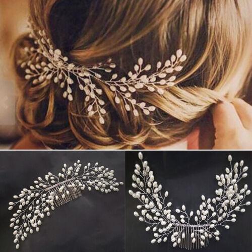 Wedding Art Decor Pearl Bride Hair Comb Bridal Hair Accessories Ornaments 12uk Ebay