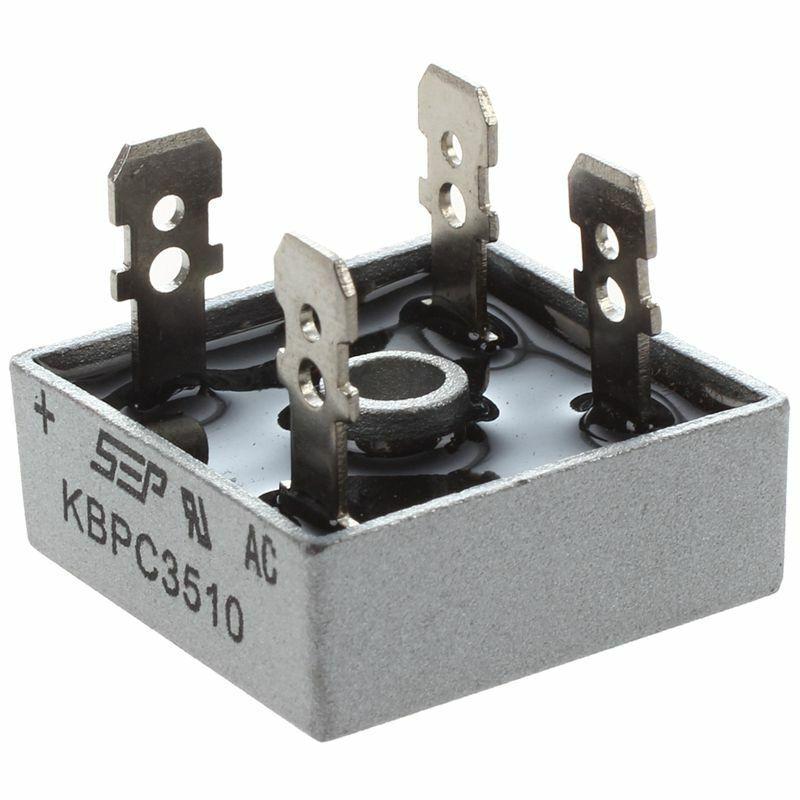 SEP KBPC3510 35A 1000V Single Phase Square Diode PCB Bridge Rectifier S1B2 t8u