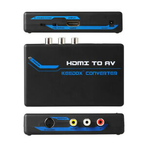 HDMI Composite RCA & S video converter scaler