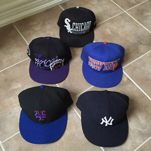 5 Hats (Fitted & Snapbacks)