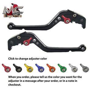 Ducati 796 MONSTER 2011-2014 Long Adjustable CNC Brake & Clutch Levers Black