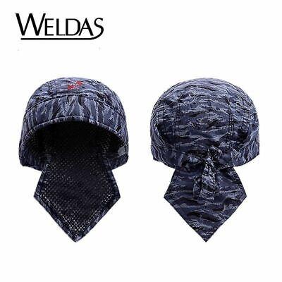 Welder Welding Hat Welding Cap Fire Resistance Flame Proof Protection Adjustable