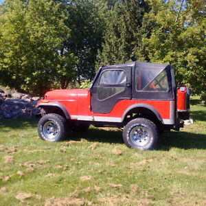 1973 Jeep CJ VUS