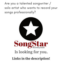 Wanted: Songwriters and Artists who want to record their songs.