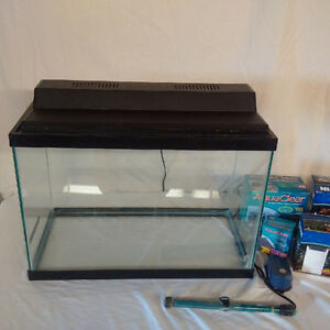 20 gallon aquarium plus accessories