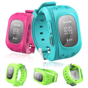 montre connect e pour enfant traceur tracker traqueur gps micro connecte ebay. Black Bedroom Furniture Sets. Home Design Ideas