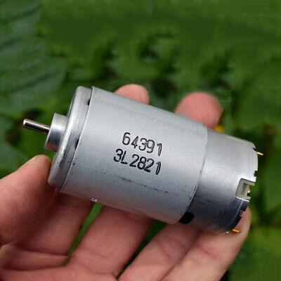 Johnson 64391 Rs-570 Dc12v-24v High Speed Power Garden Drill Electric Tool Motor